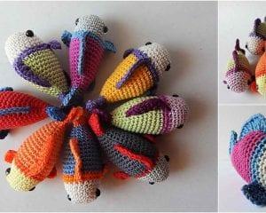 A Little Fish Free Crochet Pattern