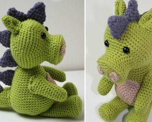 Crochet Dragon Free Pattern