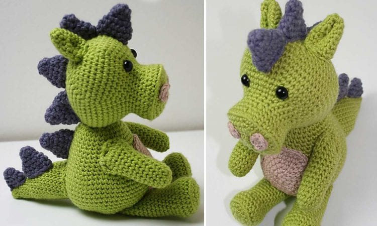 Crochet Dragon Free Pattern