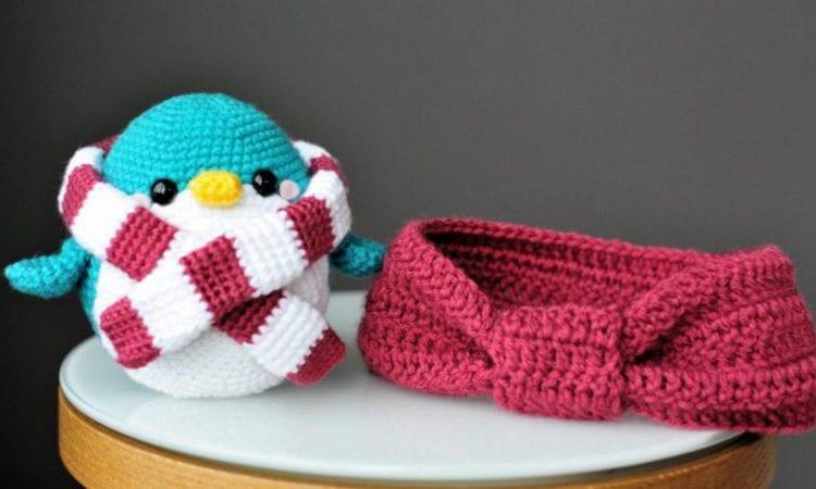 Snuggles the Penguin Free Crochet Pattern