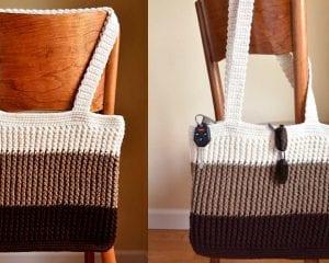 Easy Tote Bag Free Crochet Pattern