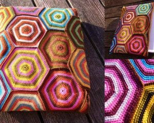 Laptop Case Free Crochet Pattern