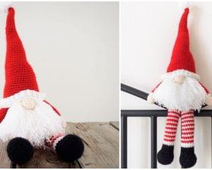 Scandinavian Santa Gnome