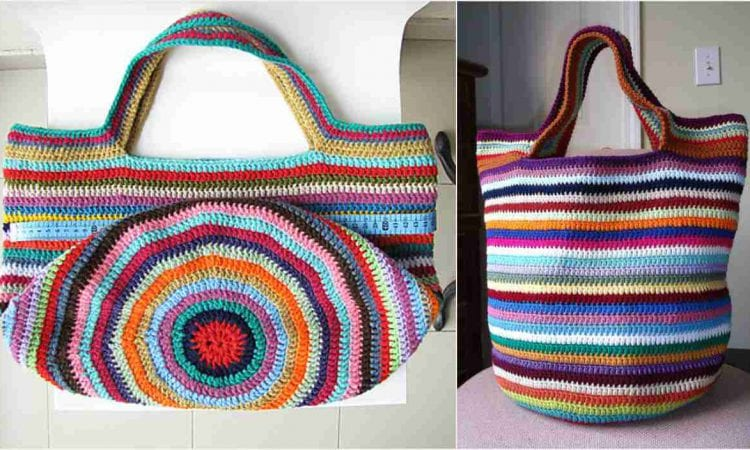 Tote Bag Free Crochet Pattern