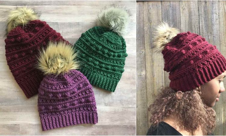 The XOXO SLOUCH HAT FREE CROCHET PATTERN