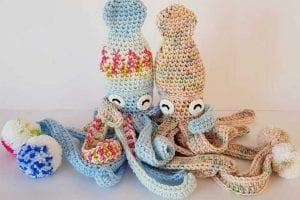 Hubble the Squid Free Crochet Pattern