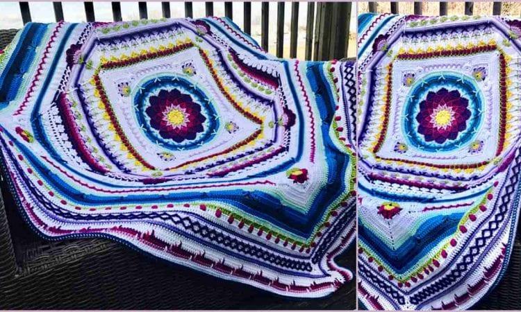 Sophie Universe Blanket Free Crochet Pattern
