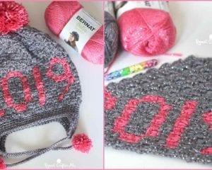 2019 C2C Hat Free Crochet Pattern