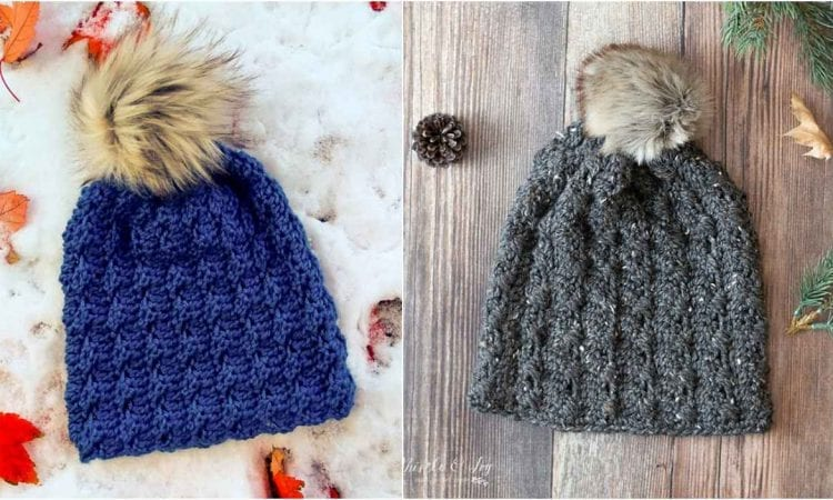 Cobblestone Hat Free Crochet Pattern