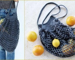 French Market Bag Free Crochet Pattern
