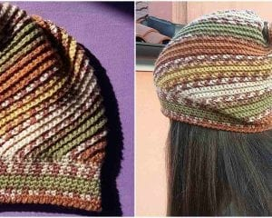 Give it a Whirl Hat Free Crochet Pattern