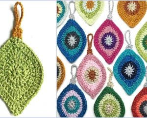 Unique Christmas Ornaments Free Crochet Pattern
