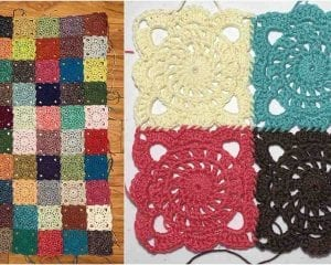 Stoney River Square Free Crochet Pattern