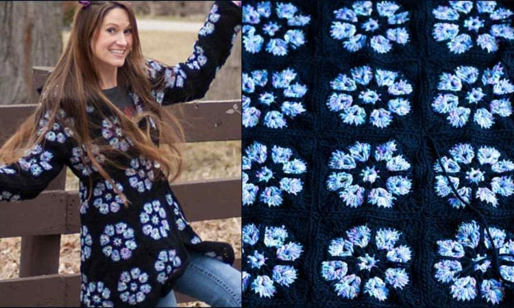 Topaz Hooded Jacket Free Crochet Pattern