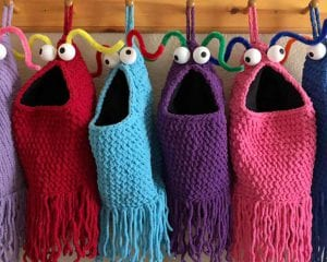 Yip Yips Christmas Stockings Free Crochet Pattern