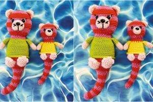 Otterly Cute Amirugumi Free Pattern