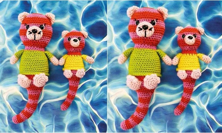 Otterly Cute Amirugumi Free Pattern