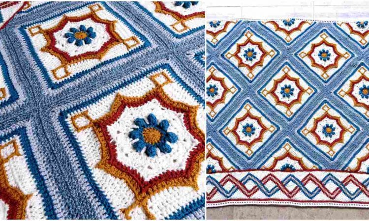 Blair Road Blanket Free Crochet Pattern