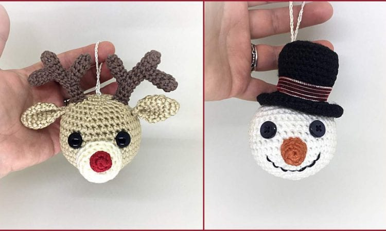 Christmas Tree Ornaments Free Crochet Patterns