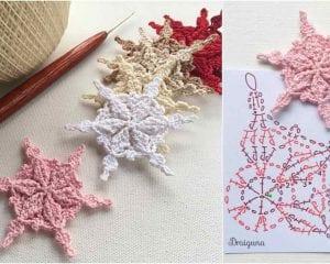 Frostwoven Snowflakes Free Crochet Pattern