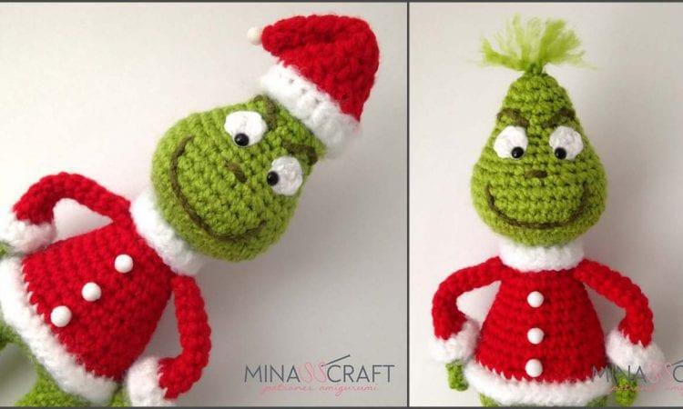 Grinch Amigurumi Free Crochet Pattern
