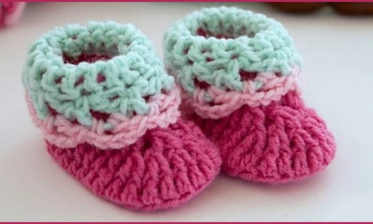 Loopy Love Baby Booties Free Crochet Pattern Your Crochet