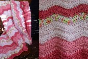 Neopolitan Ripple Free Crochet Pattern