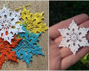 Perfect Snowflakes Free Crochet Pattern