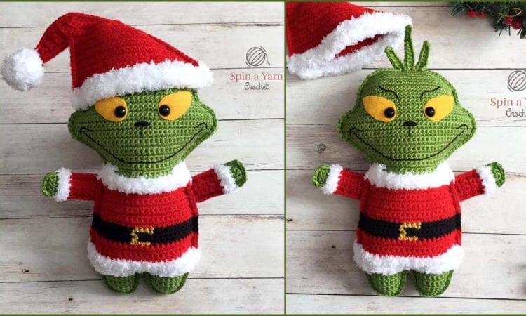The Grinch Softie Free Crochet Pattern