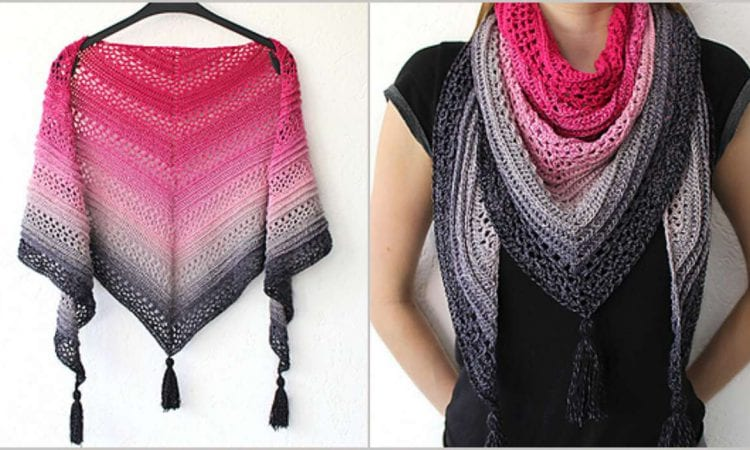 This Is Me Shawl Free Crochet Pattern