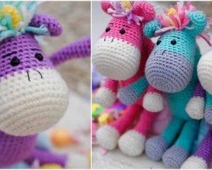AMigurumi Unicorns Free Crochet Pattern