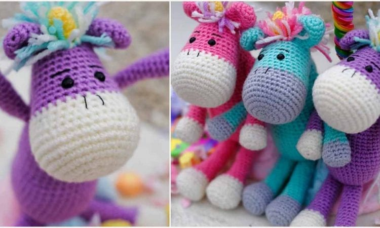 AMigurumi Unicorns Free Crochet Pattern