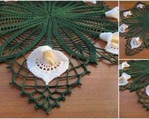 Calla Lilly Buffet Set Free Crochet Pattern