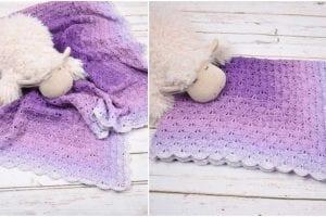 Deluxe Baby Blanket Free Crochet Pattern