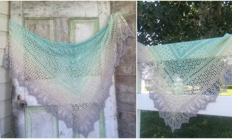 Erigeneia Shawl Free Crochet Pattern