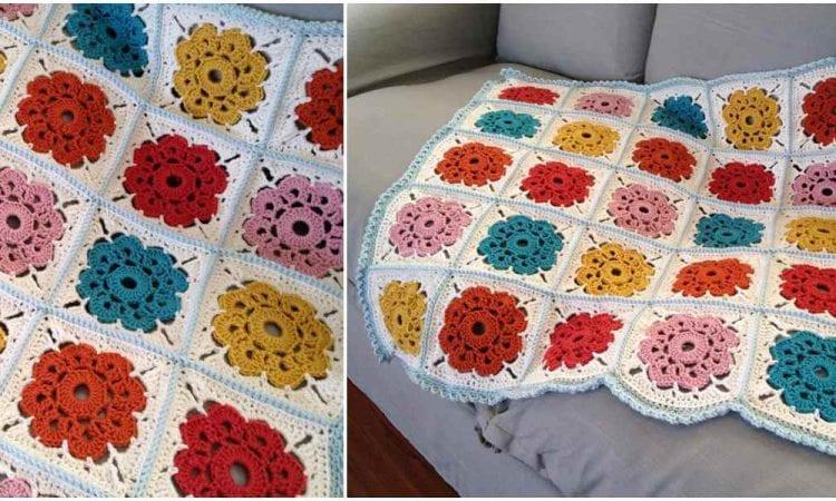 Maybelle Blanket Free Crochet Pattern