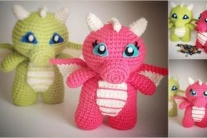 Baby Dragon Free Crochet Pattern