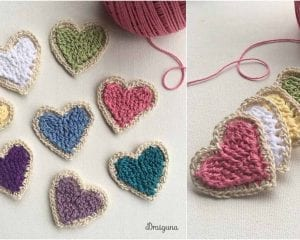 Charming Heart Free Crochet Pattern