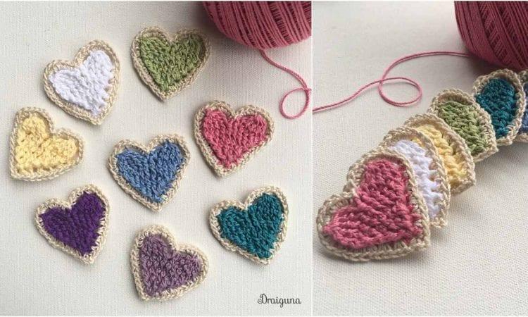 Charming Heart Free Crochet Pattern