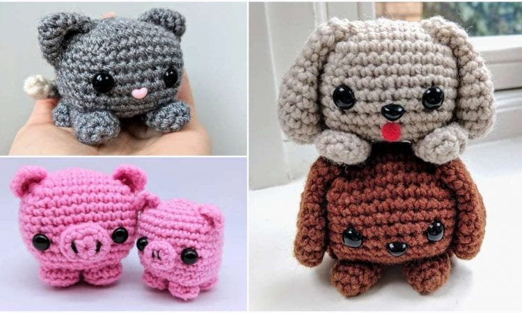 Easy Cube Animals Free Crochet Pattern Your Crochet