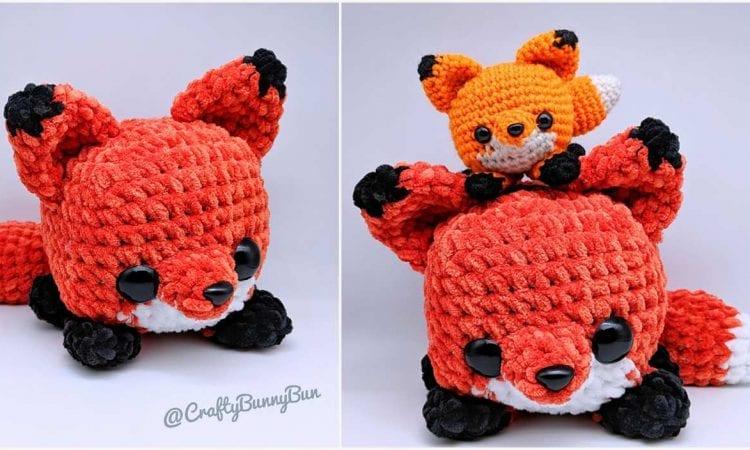 Easy Cube Foxy Fox Free Crochet Pattern