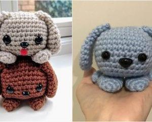 Easy Cute Puppy Dog Free Crochet Pattern