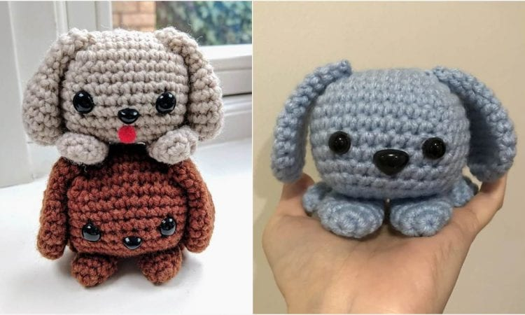 Easy Cute Puppy Dog Free Crochet Pattern