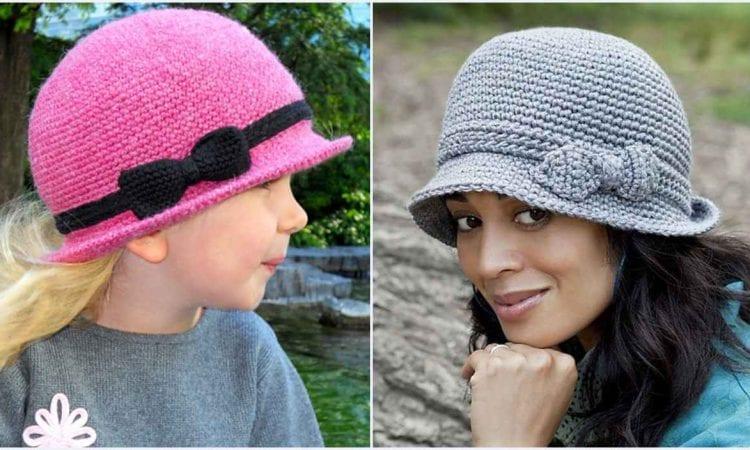 Elegant Hat Free Crochet Pattern