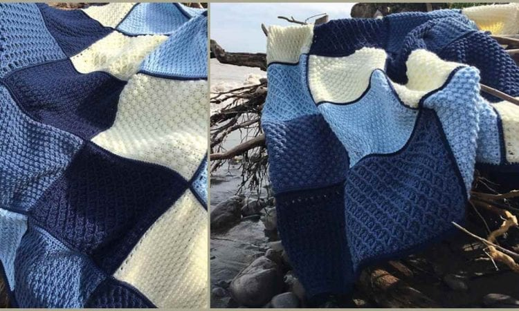 Erie Water Throw Free Crochet Pattern