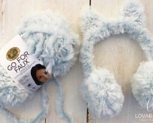 Fur Earmuffs Free Crochet Pattern
