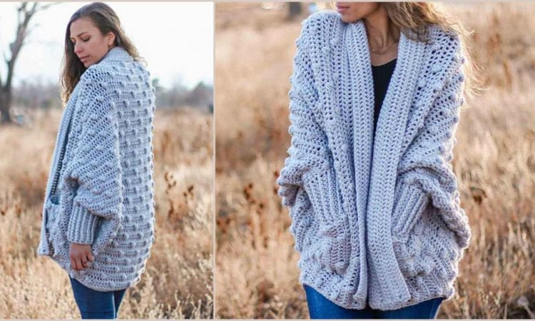 Haven Cardigan Free Crochet Pattern