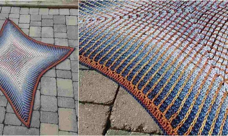 Pandora's Box Blanket Free Crochet Pattern