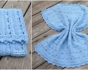 Simply Stunning Baby Blanket Free Crochet Pattern