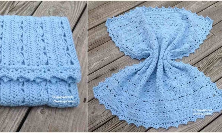 Simply Stunning Baby Blanket Free Crochet Pattern